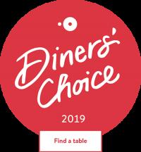 dinner's choice badge