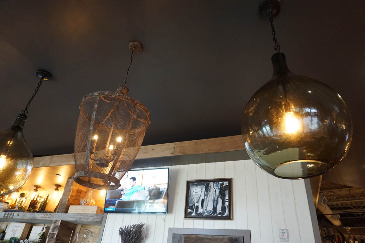 Napa bar light fixtures