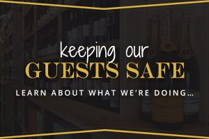 Keeping our guests safe. Learn about what we're doing. Clicking this tout will take you to our guest safety page.